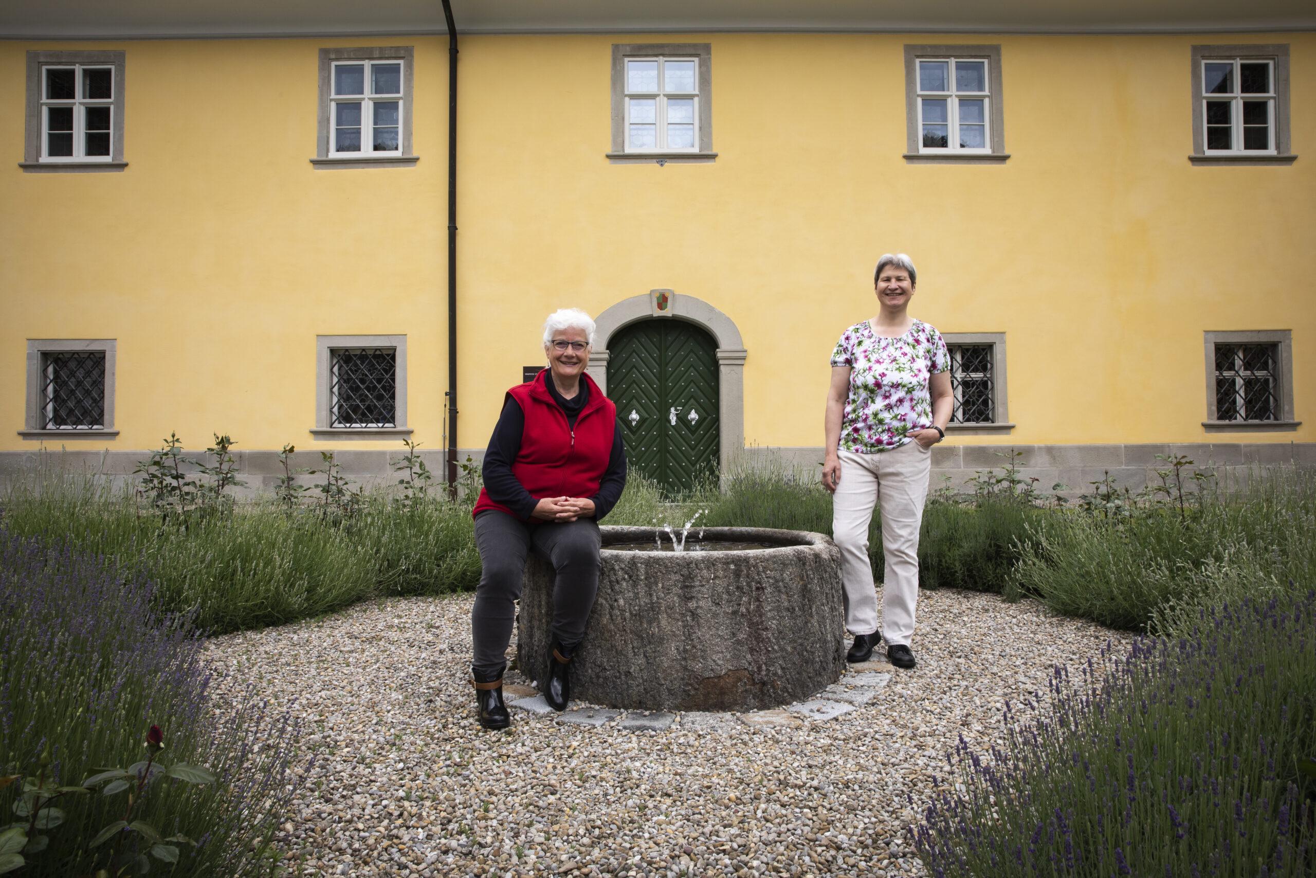 """Brigitta Walpen und Theresia Weyerman leiten neu das """"Haus der Stille"""""""