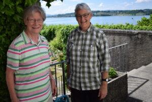 Sr. Rosmarie (links) und Sr. Ursula